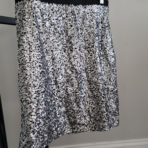 LOFT Sequin midi skirt- Size 10